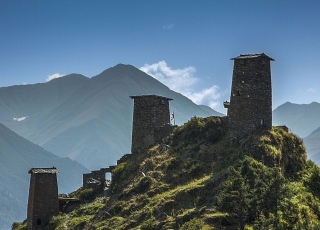 Georgia - Six day hike up in the mountains of Svaneti
