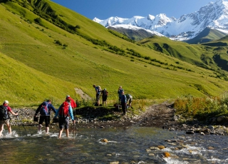 Georgia - Five day hike up in the mountains of Svaneti