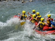 Georgia  <span> Rafting on the Pshavi Aragvi River</span>