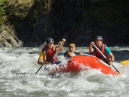 Georgia  <span> Rafting on the Mtkvari River (Kura)</span>